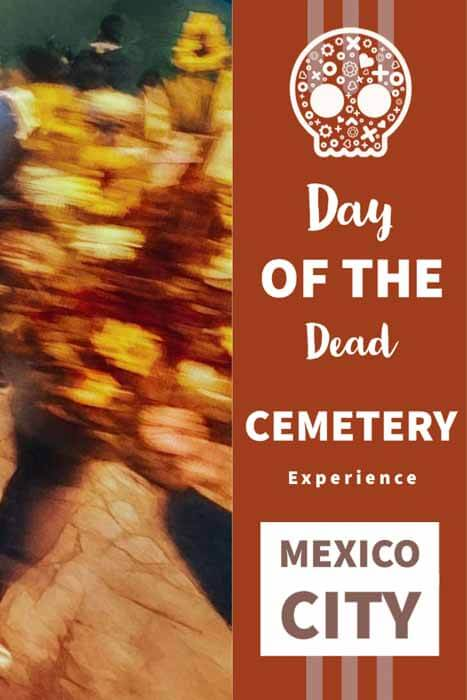 Mexico City Day of the Dead Cemetery