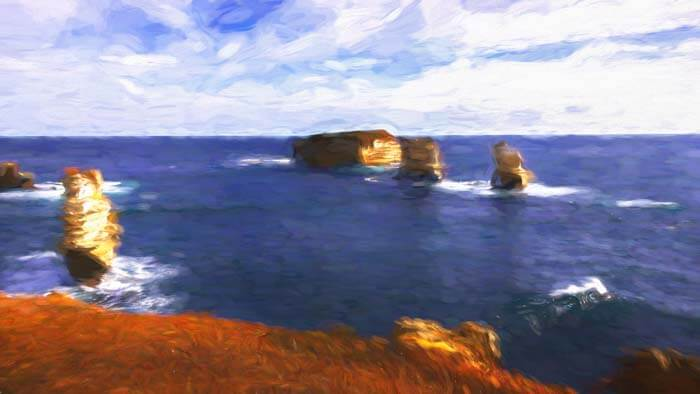 Bay of Islands Great Ocean Road Victoria Australia