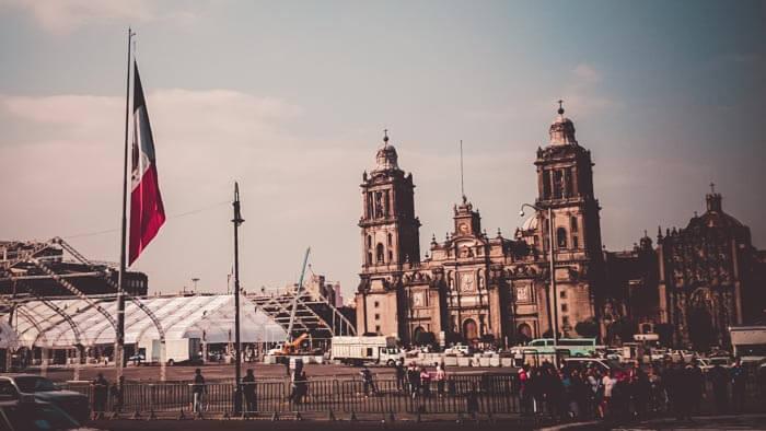 Mexico City Historic Center Cathedral Metropolitan