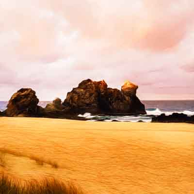Camel Rock Beach Australia