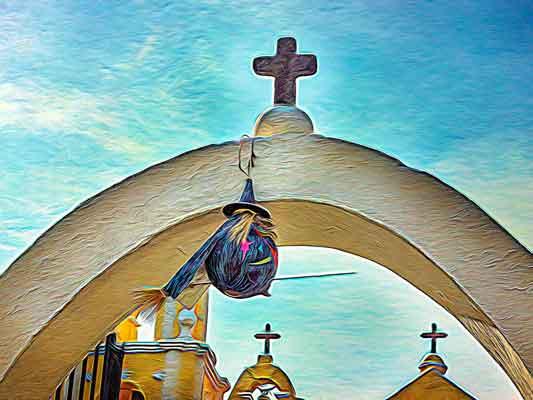 Church in Milpa Alta