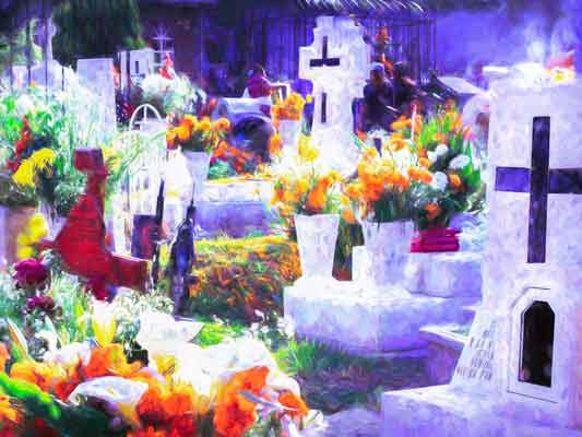 Church with Day of the Dead Traditions experience in Milpa Alta
