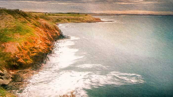 Coastline at Phillip Island Australia