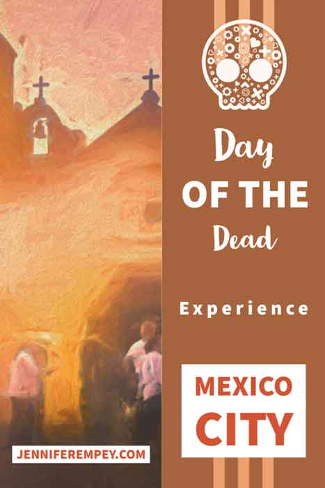 Day of the Dead Traditions experience Mexico City Pin