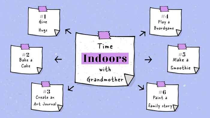 Grandmothers Day Indoor Activities