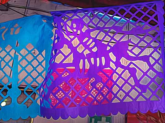 Papel Picado Day of the Dead Traditions