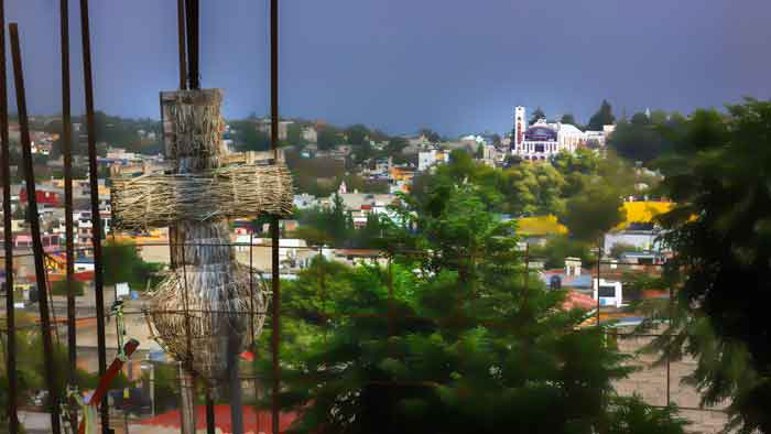 Town in Milpa Alta