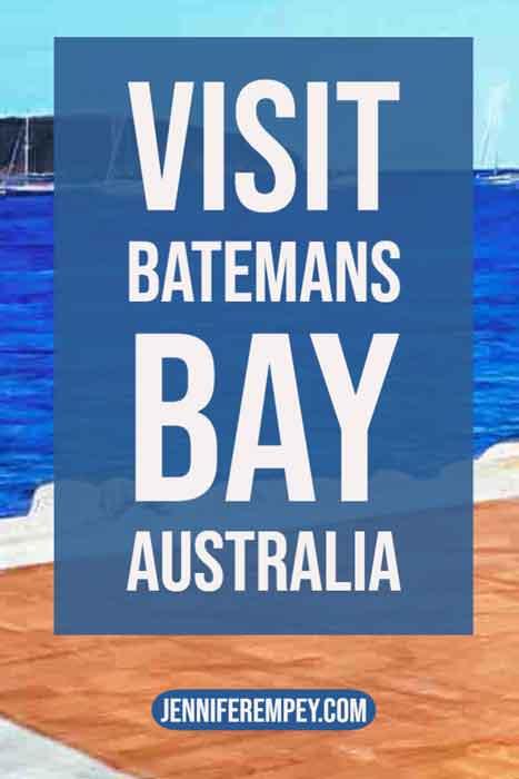 Batmans Bay Australia Pin