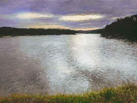 Lake at Bermagui