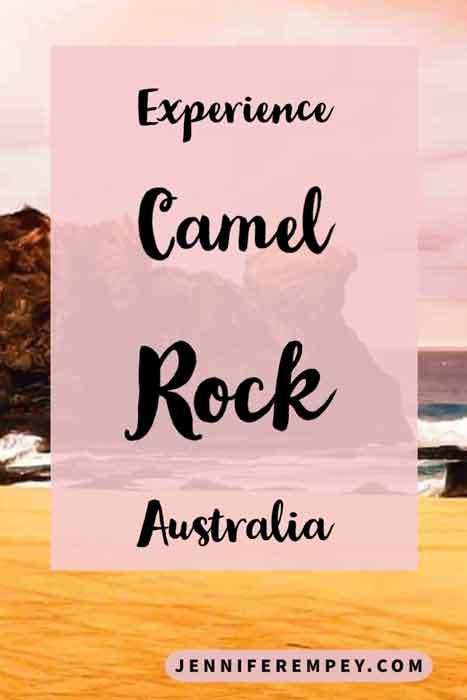 Camel Rock Pin