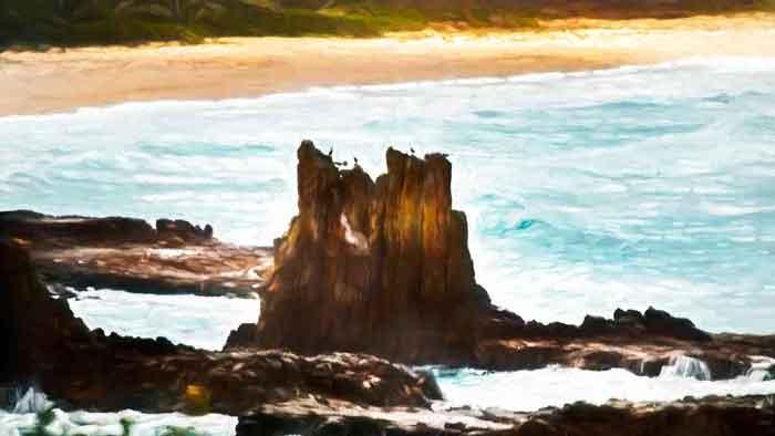 Cathedral Rocks NSW Australia