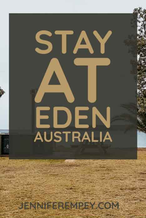 Eden Staycation Pin