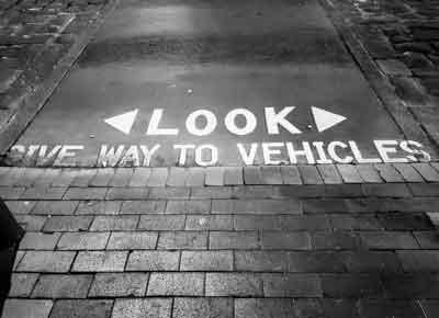 Give Way Sign Kiama Blowhole