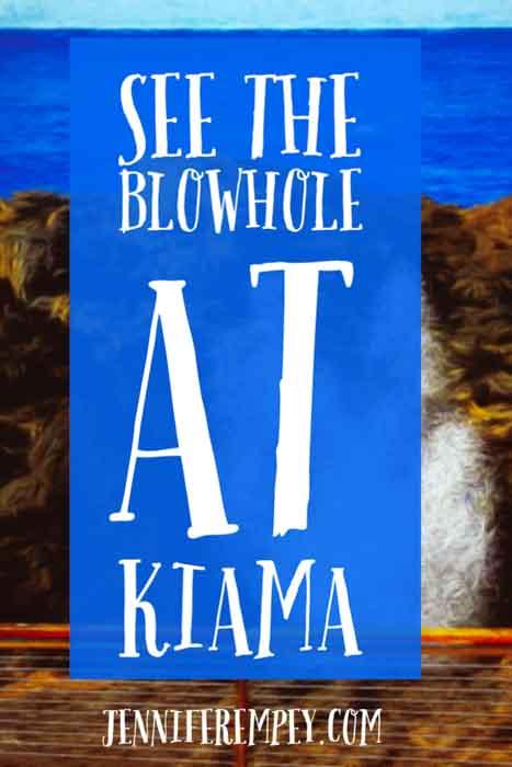 Kiama Blowhole Pin