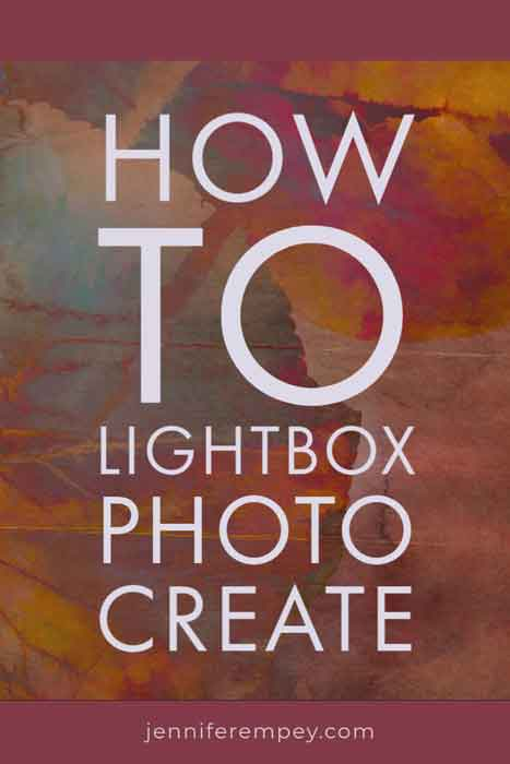 Lightbox Photo Credit Pin