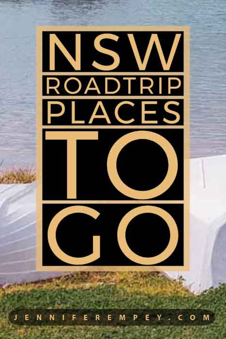 NSW Roadtrip Places to Go Pin