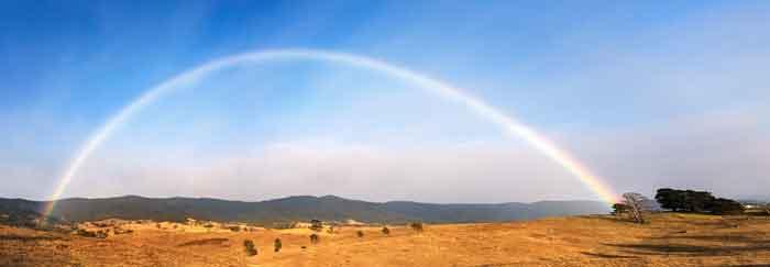Rainbow Great Dividing Range