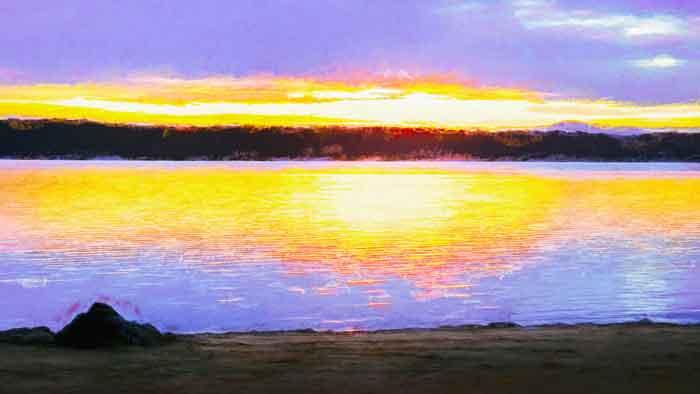 Wallaga Lake Sunset