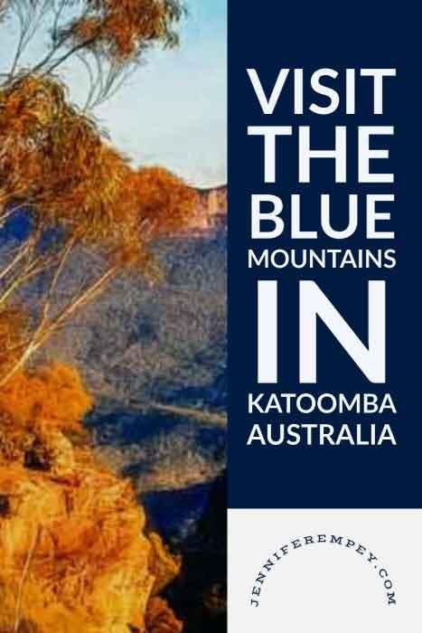 Blue Mountains Pin