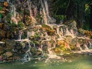 Water Cascade at Daydream Island