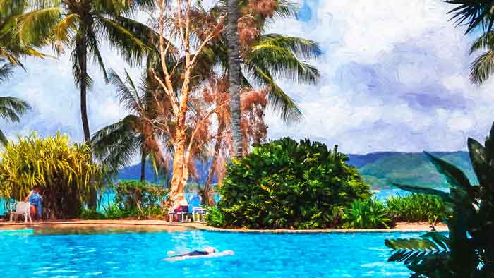 The Swimming Pool at Daydream Island