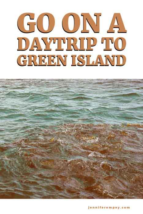 Green Island Daytrip Pin