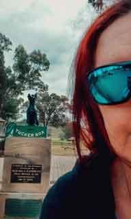 Jennifer Empey on the Sydney Melbourne Road Trip