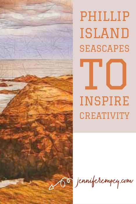 Phillip Island Seascapes Pin