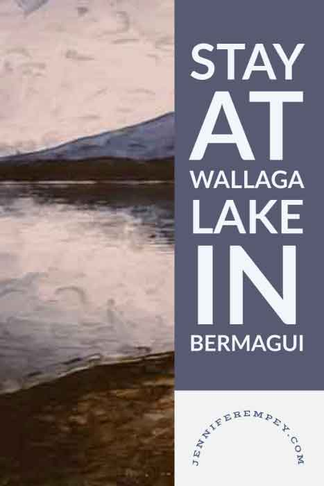 Wallaga Lake Stay Pin